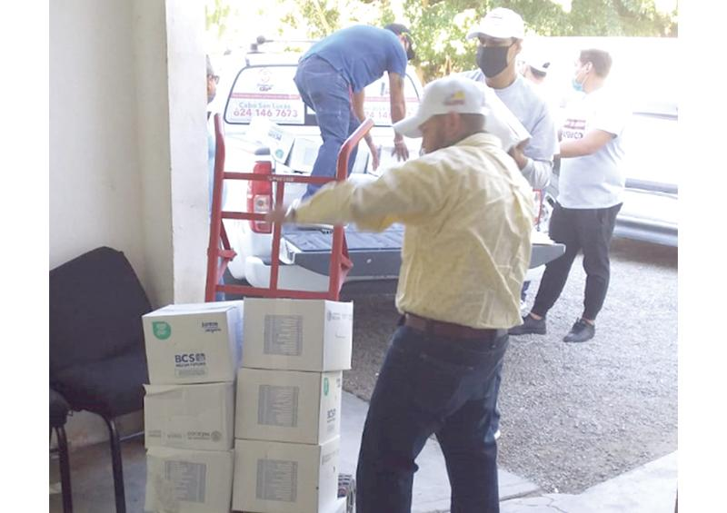 Repartirá DIF Los Cabos 4 mil 500 despensas otorgadas por la Federación