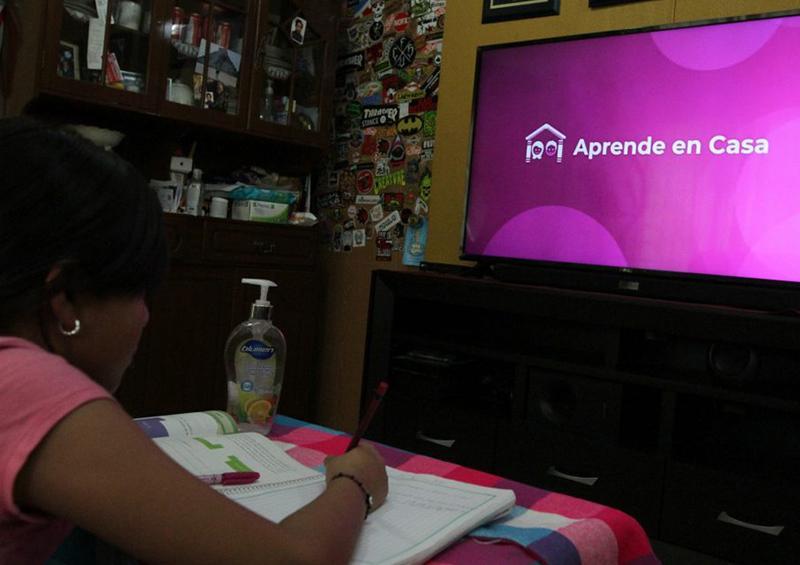 Televisa transmitirá contenidos de Aprende en Casa