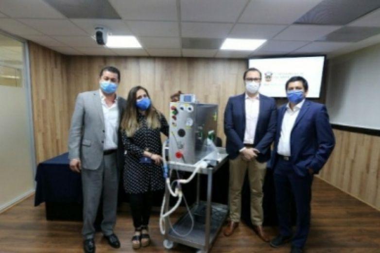 Desarrollan ventilador para atender a pacientes con COVID-19.
