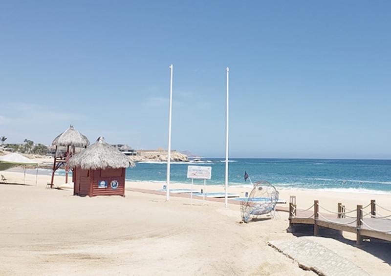 Mantienen estándares de calidad en playas durante la contingencia sanitaria