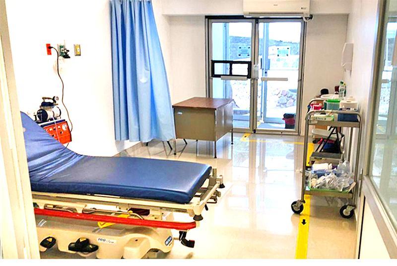 Establecen unidad Covid-19 en hospital de Santa Rosalía
