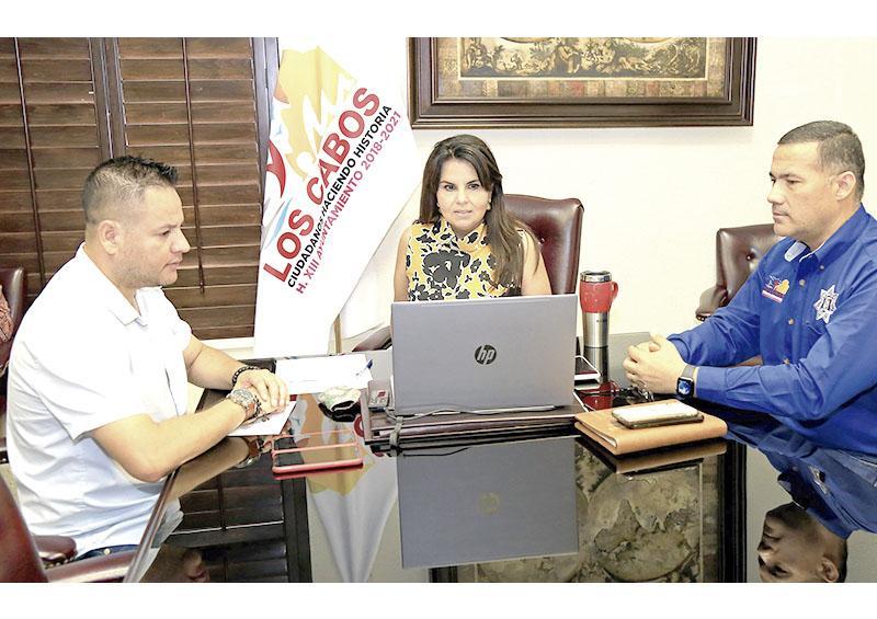 Los Cabos garantizará estancia segura para que visitantes regresen sanos a su lugar de origen: Presidenta Municipal