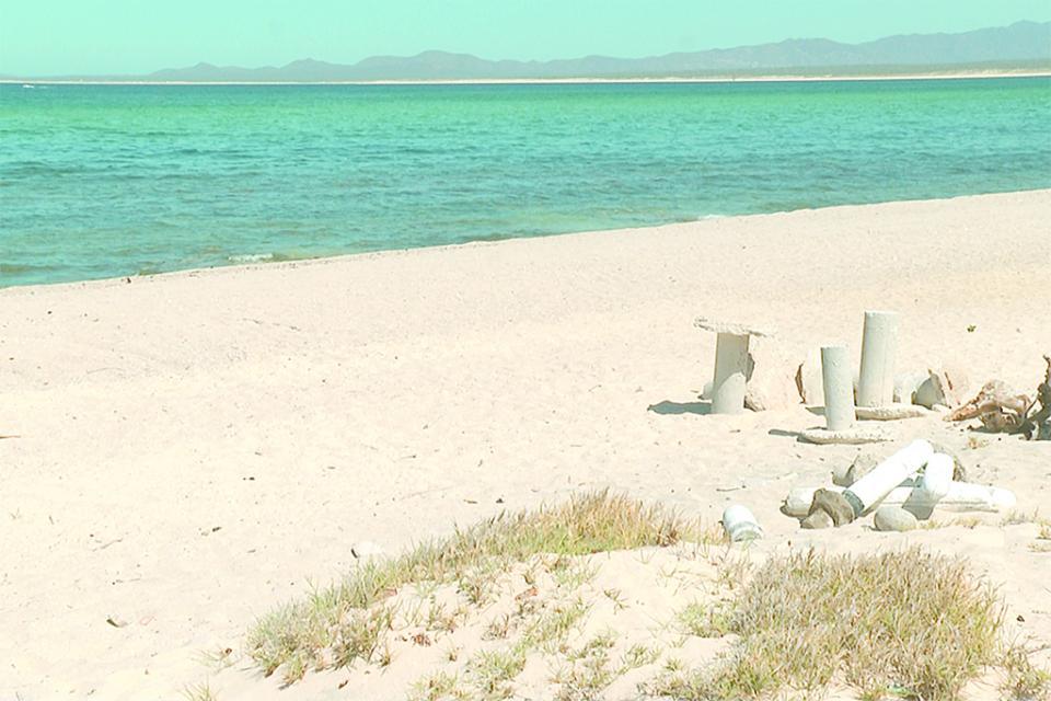 Ilegal intervención  en playa El Palmar  de El Sargento,  señala especialista