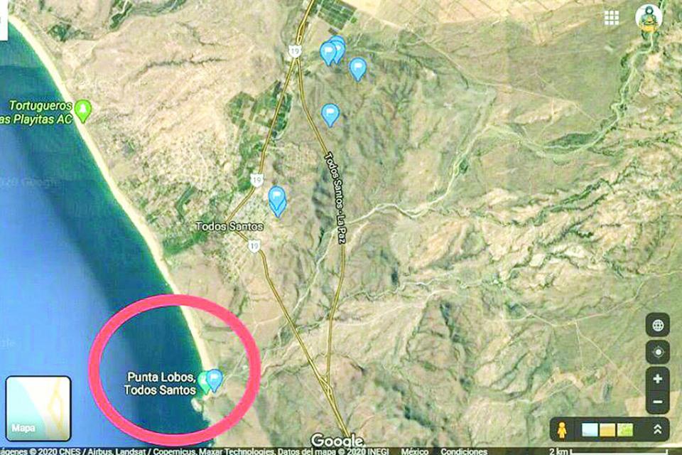 Predio que pretenden subastar está ubicado en playa Punta Lobos