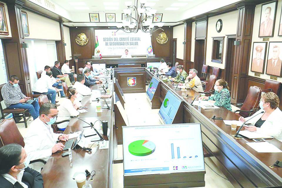 Reforzará Comité de Seguridad en Salud estrategias para hacer frente al Covid-19: CMD
