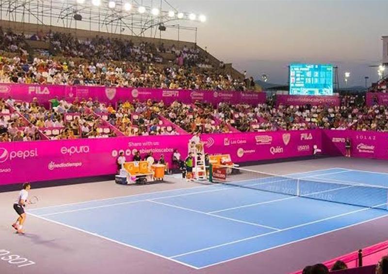 Posponen Abierto de Tenis Los Cabos que celebrarían del 20 al 25 de Julio