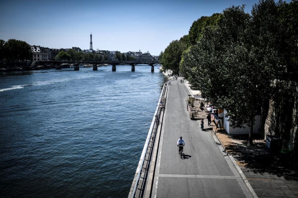 Primera ola de calor tras el desconfinamiento en Europa