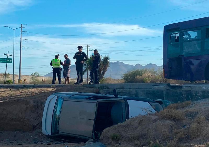 Heridos y cuantiosos daños saldo de 2 accidentes en Los Cabos