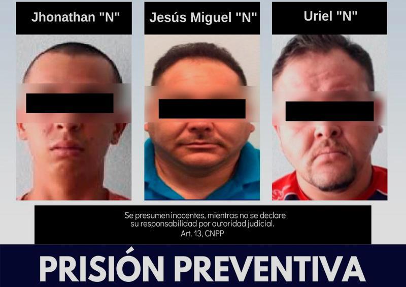 Prisión preventiva para imputados por secuestro en Constitución