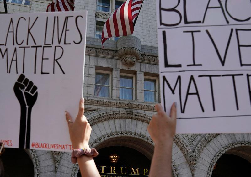 ¿Hacia dónde se dirige Trump con las protestas raciales en EE.UU.?