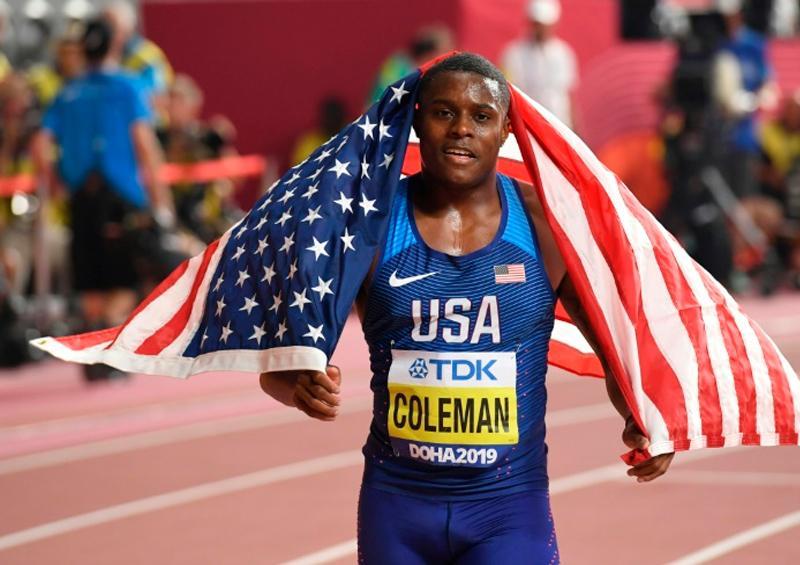 Coleman acusado de dopaje podría perderse los Juegos de Tokio