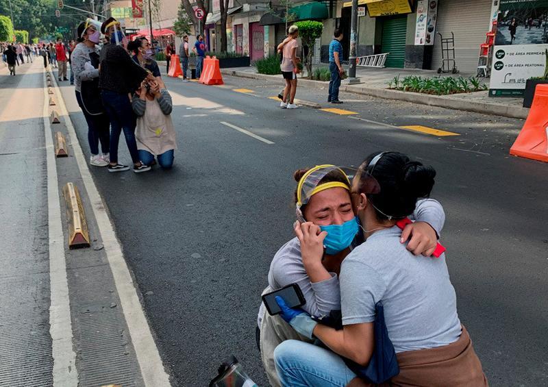 Alerta de tsunami en Centroamérica tras el terremoto en México