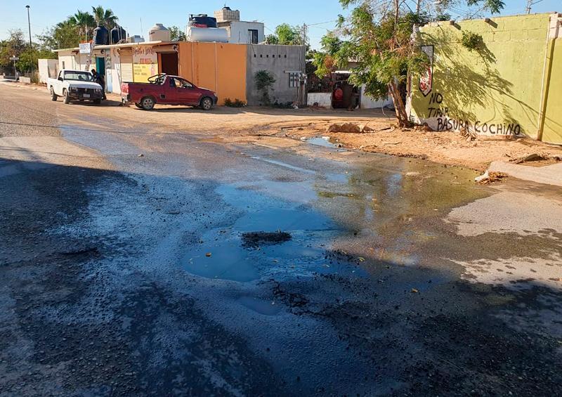 Por derrame de aguas negras, Coepris aplica medidas de seguridad