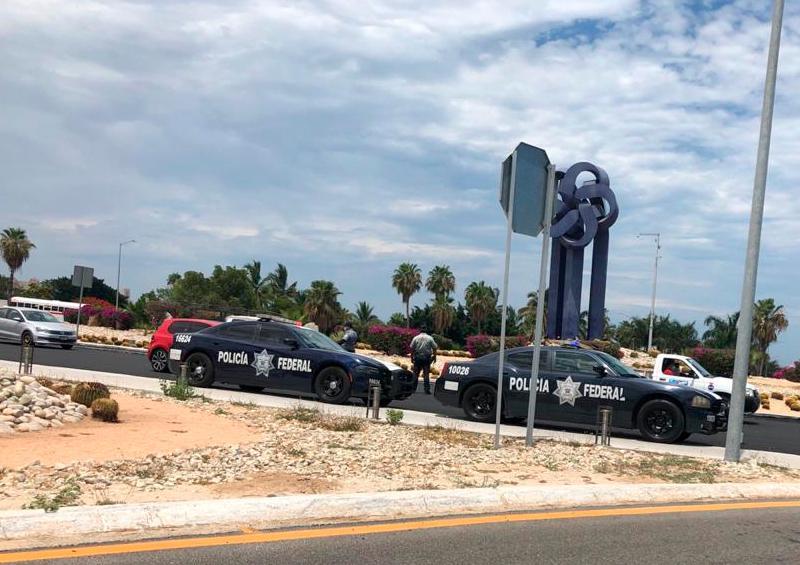 Policía Federal supervisa medidas sanitarias en automovilistas