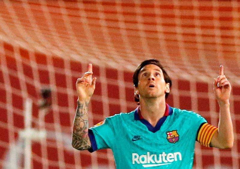 Nuevo récord de Messi: 20 goles en 12 temporadas consecutivas