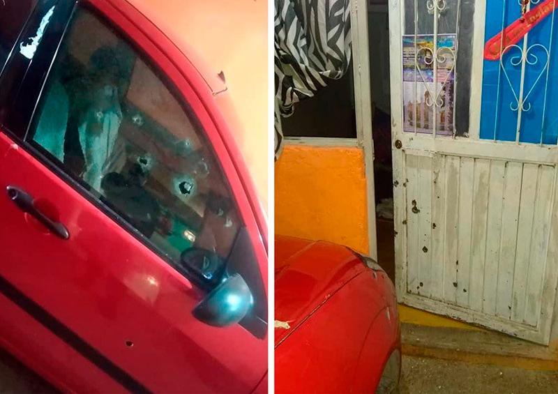 Dos niñas resultaron heridas por arma de fuego en San Luis Potosí