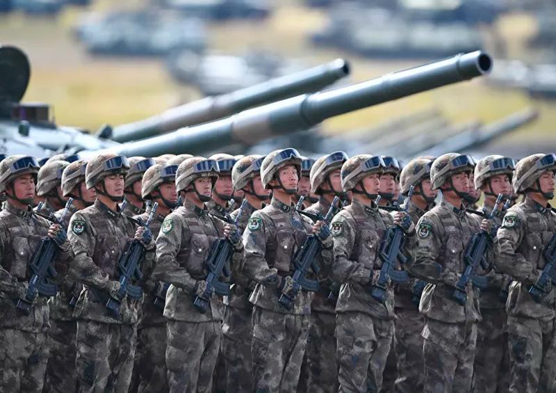 China ensaya un rápido despliegue de fuerzas