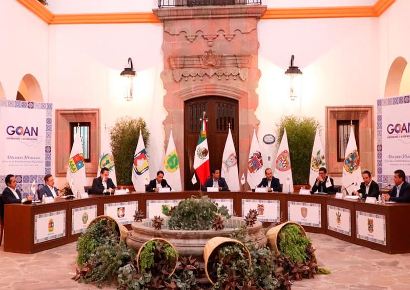 Gobernadores Panistas pactan para exigir apoyo de la federación
