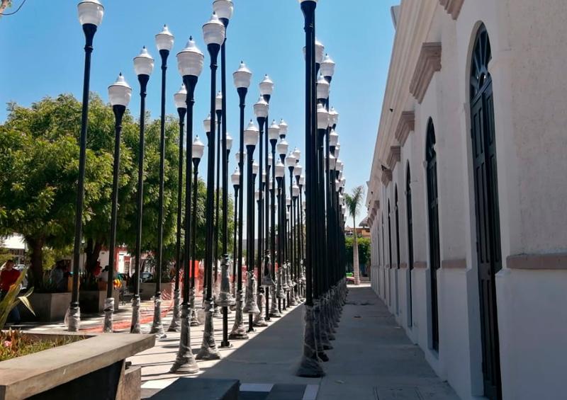 Denuncian irregularidades en remodelación del Centro Histórico
