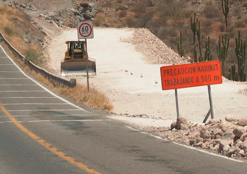 Se cierra carretera a Pichilingue por obras de ampliación