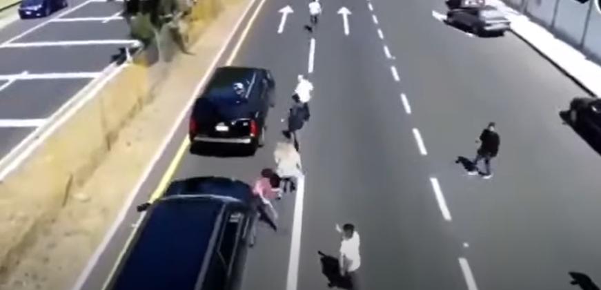 Convoy de AMLO atropella a manifestante
