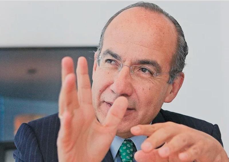 Rechaza Calderón que al terminar su sexenio se fuera a Iberdrola
