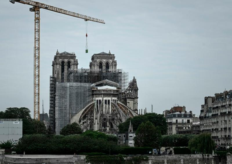 Empieza restauración de la catedral de Notre Dame de París
