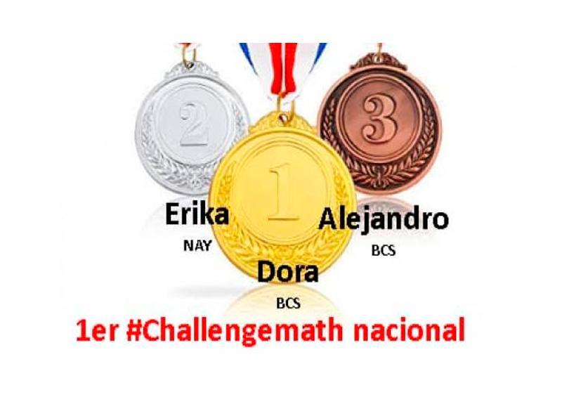 Alumnos de BCS obtienen 1er lugar en competencia de matemáticas
