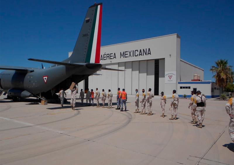 Trasladan 2 mil 504 toneladas de insumos médicos a BCS