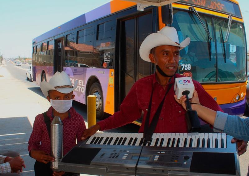 La música, sustento y cuidado familiar para Noe Ortega