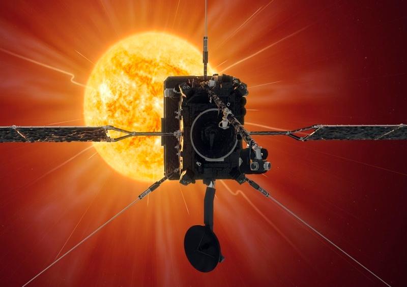 Una nave europea pasa a 77 millones de kilómetros del Sol