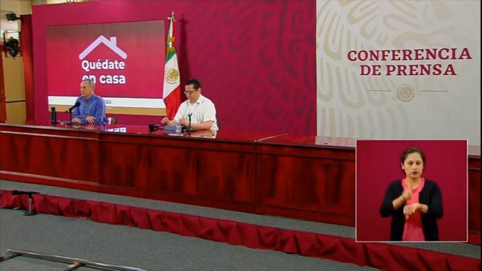 3,484 infectados y 188 decesos en México, de ayer a hoy