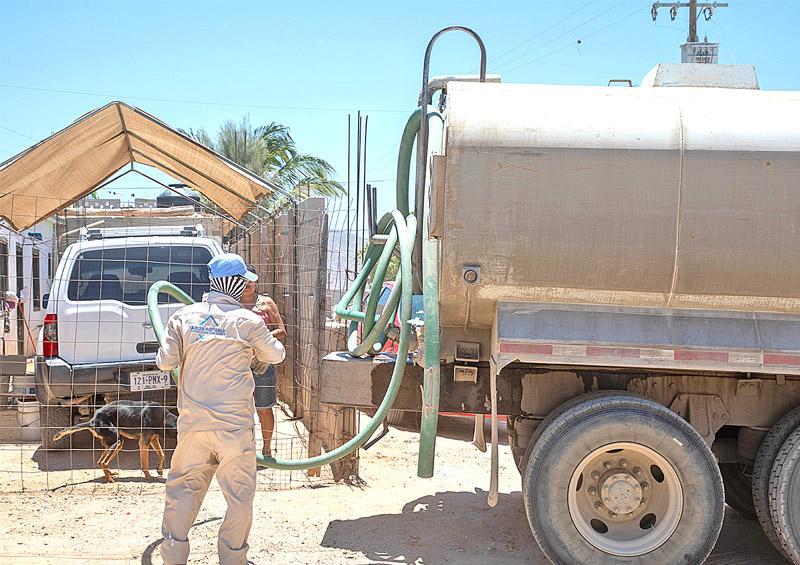 Superan los 32 millones de litros con el Programa de Reparto de Agua en Pipas
