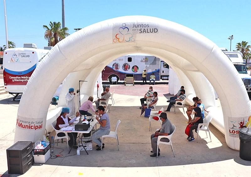 Continuará  Caravana de Salud Municipal una semana más brindando atención médica gratuita