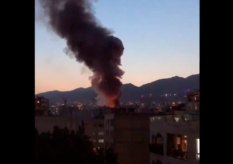 13 personas fallecen tras registrarse una explosión en Teherán