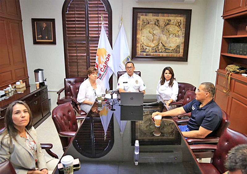 Instalan Consejo Municipal de Protección Civil en Los Cabos