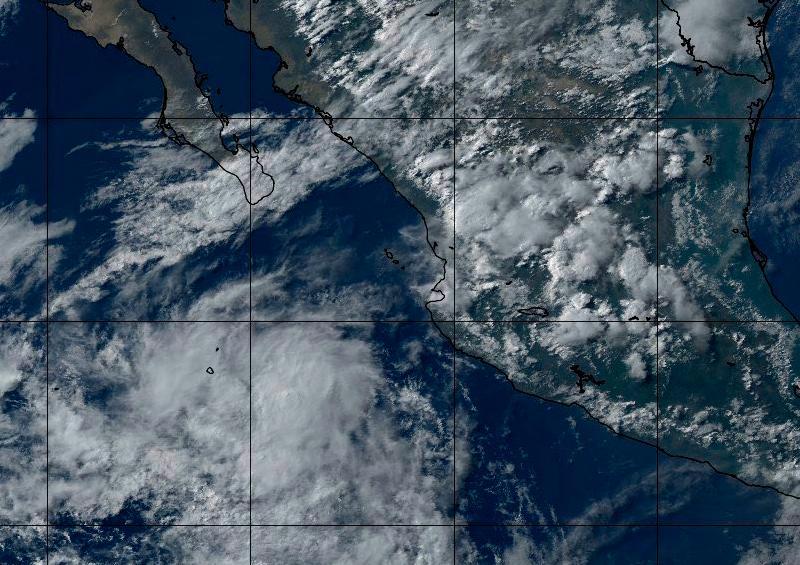 Baja presión favorecerá la presencia de lluvias en BCS