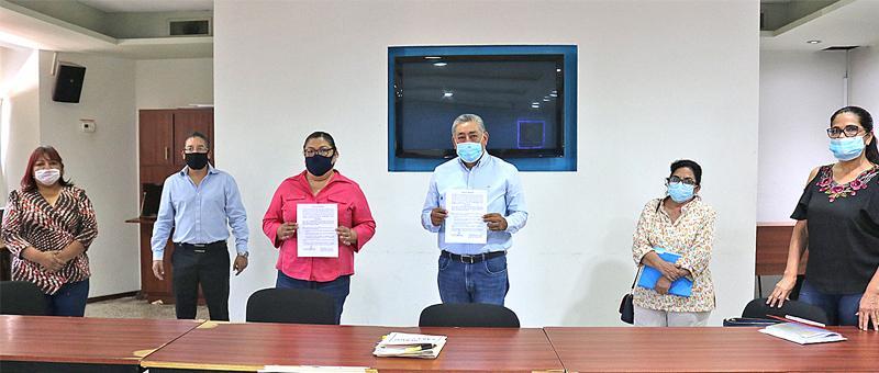 Acuerdan SEP y Sindicato de Preparatoria Morelos para el pago  de quincenas y prestaciones