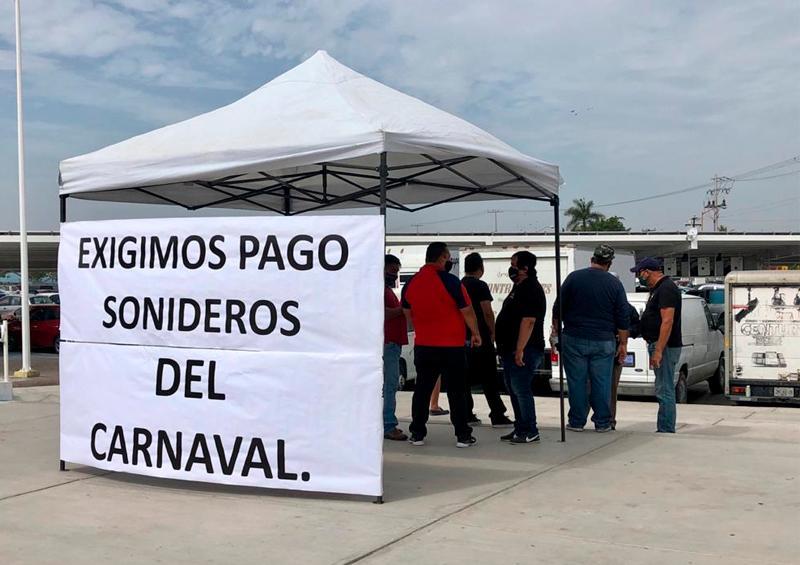 Músicos exigen pago por su participación en el carnaval 2020