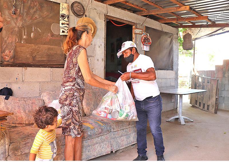 Continúa el apoyo a la población vulnerable: Gobierno de Los Cabos