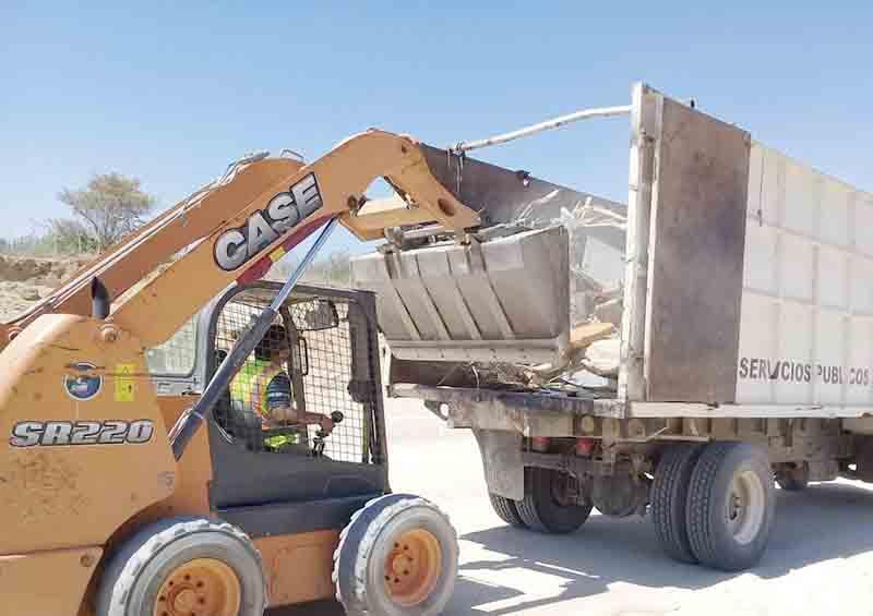 Retiran 350 toneladas de basura de arroyos de Los Cabos: Servicios Públicos