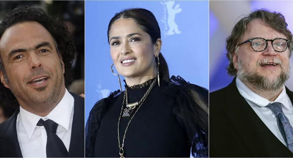 Salma Hayek, del Toro e Iñárritu crean fondo para cineastas