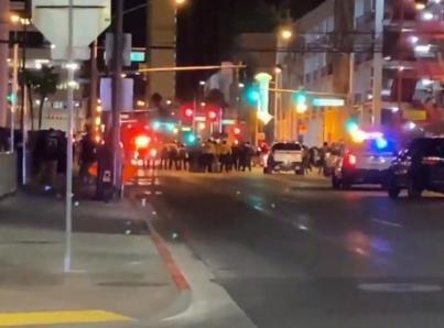Se reportan dos tiroteos en Las Vegas