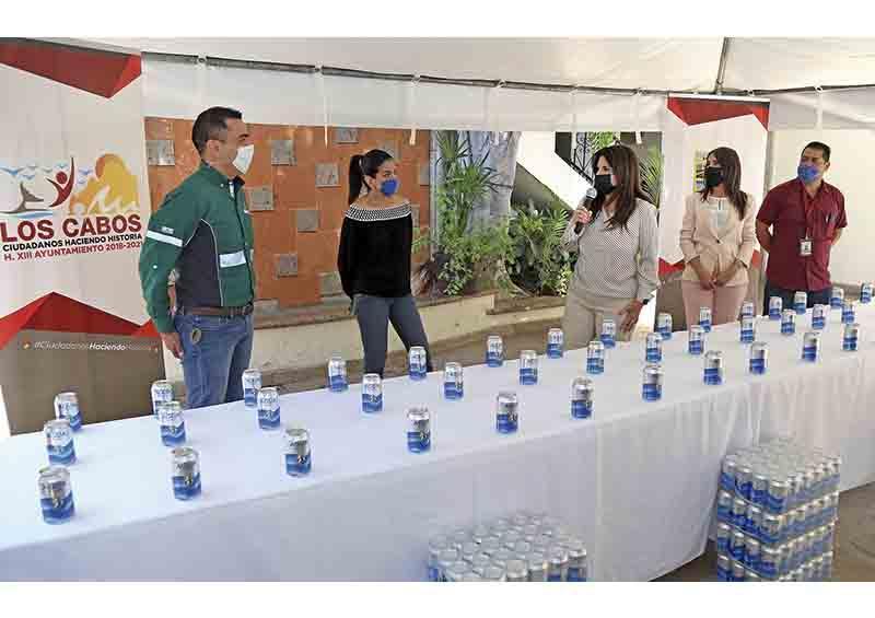Más de 12 mil latas de agua potable serán distribuidas a la ciudadanía más vulnerable