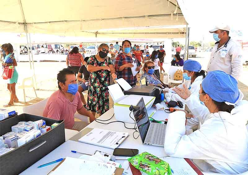 Realizan con medidas sanitarias Jornadas Sociales de Asistencia Ciudadana Covid-19 en Los Cabos