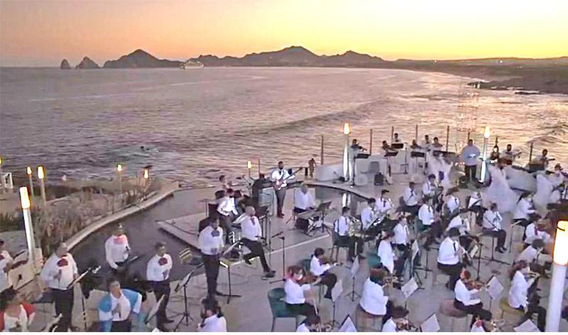 Los Cabos Tourism ofrece concierto virtual por reapertura del destino