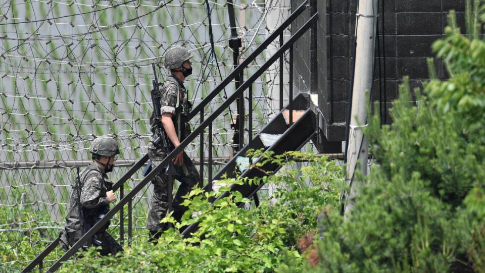 Corea del Norte hace estallar la oficina de relaciones con el Sur