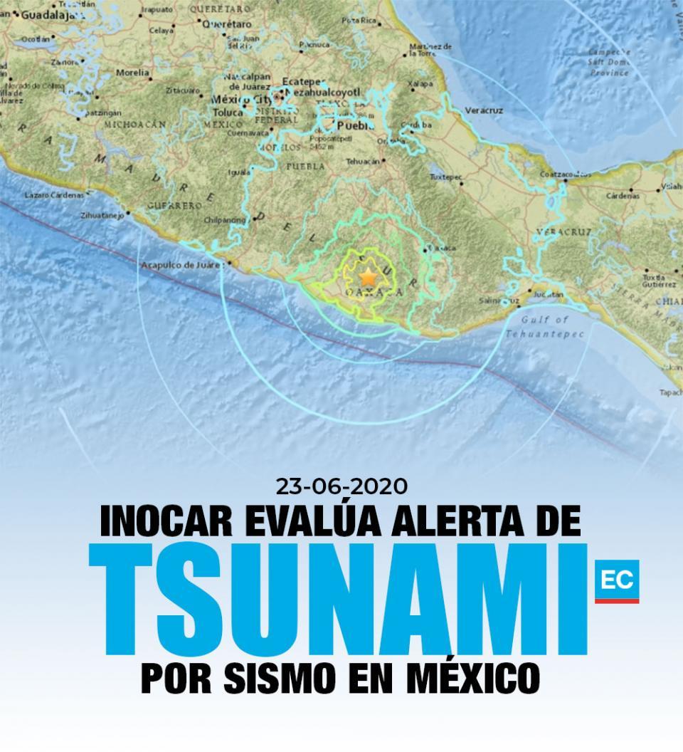 """""""Peligro inminente"""" de tsunami en costas de Ecuador"""