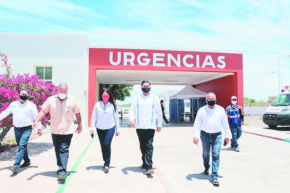 Supervisa Secretario  General de Gobierno instalaciones  de salud en Loreto