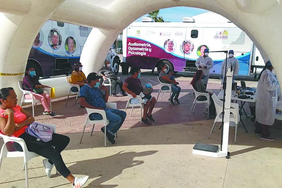 Regresa Caravana de Salud Municipal en Los Cabos